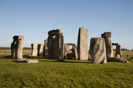 wiltshire: Stonehenge historic site in Wiltshire England UK