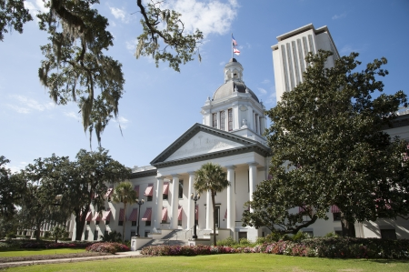 Tallahassee State Capitol buildings USA