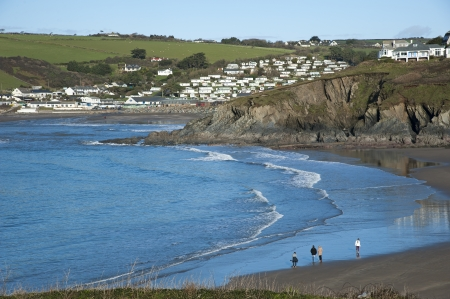 burgh: Challaborough South Devon viewed from Burgh Island