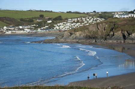 burgh: Challaborough South Devon viewed from Burgh Island