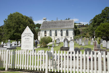 christ church: Christ Church at Russell New Zealand New Zealands oldest church