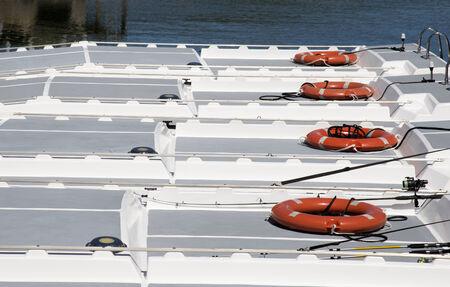 life saving: Life saving aids on hire boats Lifebelts