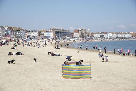 dorset: Weymouth Dorset a popular seaside town in Dorset England UK
