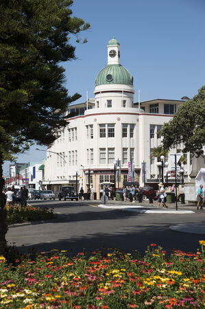 The Dome building in Napier New Zealand