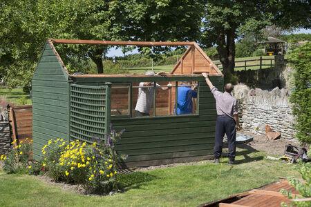Demolishing a garden shed Editorial