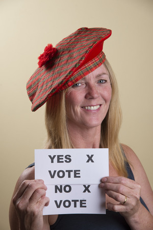 tammy: Scottish Referendum undecided  female voter Yes or No