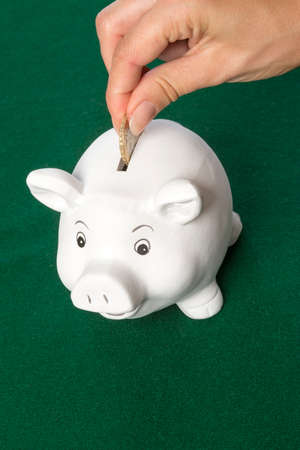 monies: Piggy Bank saving money