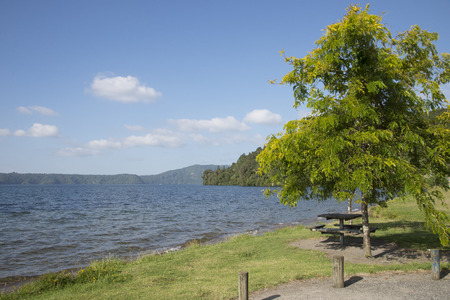 Lake Taupo New Zealand photo