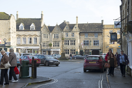 Stow on the Wold town centre The Cotswolds area England UK