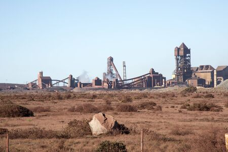 steelworks: Steelworks at Saldanha Bay West Coast South Africa