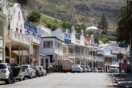 main street: Simonstown main street Western cape South Africa Editorial