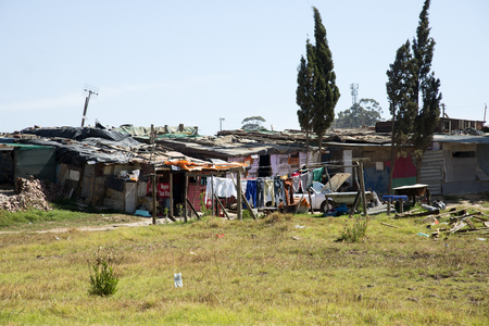 Township near Paarl Western cape South Africa