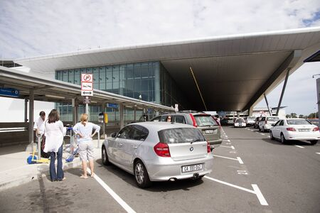 Drop and Go area Cape Town International Airport South Africa