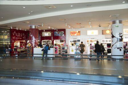 on duty: Duty Free airport shop