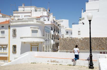 armacao: The coastal Algarve town of Armacao de Pera southern Portugal