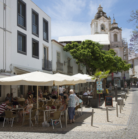 Old historic area of Lagos southern Portugal