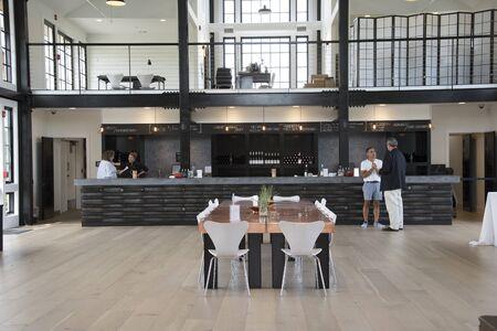 long island: Tasting room at kon to KOS ta Winery at Greenport Long Island, USA Editorial