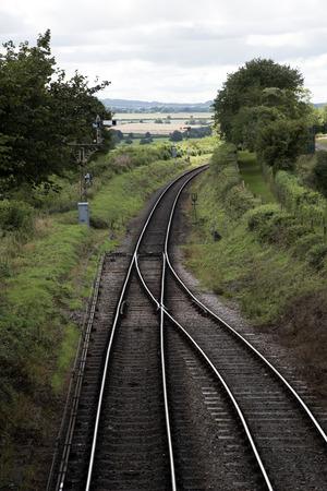 berros: La Línea de berro en Ropley Hampshire Inglaterra Reino Unido