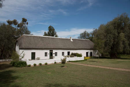 smuts: Smuts Cottage birthplace of General Jan Smuts at Riebeeck West South Africa