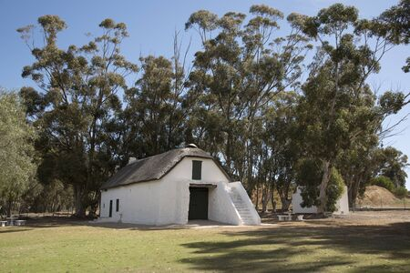 smuts: Barn at Bovenplass the birthplace of Genral Jan Smuts at Riebeeck West South Africa Editorial