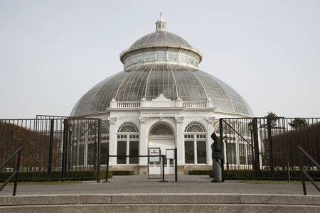 conservatory: The Haupt Conservatory at the New York Botanical Garden in the Bronx