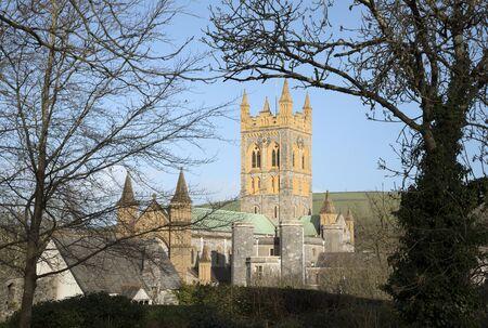 retreats: Buckfast Abbey and Monastery in Buckfastleigh in South Devon England UK