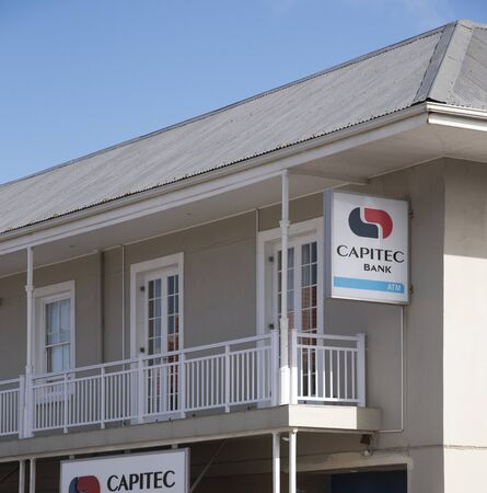bank western: Capitec Bank is a commercial bank in the Republic of South Africa. The premises here are in Hermanus Western Cape