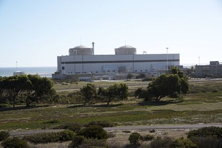 THE KOEBERG NUCLEAR POWER STATION NORTH OF CAPE TOWN SOUTH AFRICA -APRIL 2016- Koeberg the only nuclear power station in Africa is at Melkbosstrand north of Cape Town. Editoriali