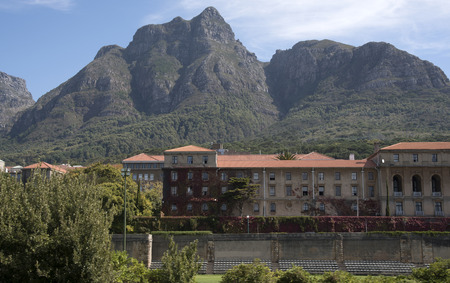uni: CAPE TOWN SOUTH AFRICA - APRIL 2016 - Cape Town Universirty campus in the Western Cape region of Southern Africa Editorial