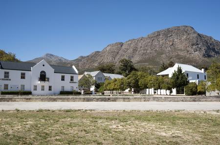 FRANSCHHOEK WESTERN CAPE SOUTH AFRICA - APRIL 2016 - Hospice House in Franschhoek Western Cape Southern Africa