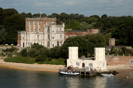 seafronts: Brownsea Island Poole Harbour Dorset England UK