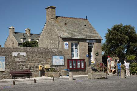 commune: The coastal commune of Barfleur in Normandy northwest France.