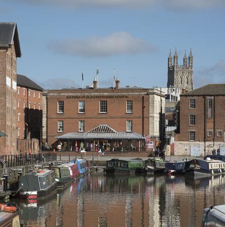 regenerated: Gloucetser Docks Gloucestershire England UK - October 2016 Editorial