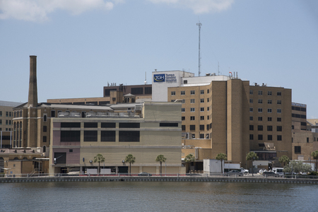 Tampa General Hospital an exterior view of the medical establishment on the Tampa city center waterfront