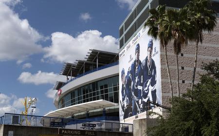 The Amalie Arena downtown Tampa Florida USA. April 2017