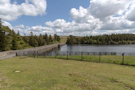 Dartmoor-Nationalpark, Devon, England, Großbritannien. Mai 2019, Das Venford Reservoir in der Nähe von Holne auf Dartmoor.