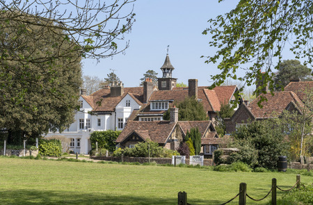 The Lee near Great Missenden, Buckinghamshire, England, UK,  A hamlet with The Lee Manor and lodges in The Chilterns area of Bucks.
