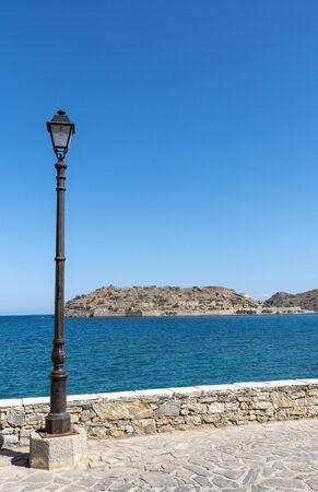 Spinalonga Island, northern Crete, Greece, October 2019.
