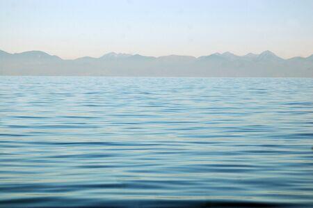 Calm seas at Abel Tasman National Park, New Zealand photo