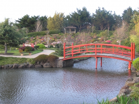 toowoomba: Nikki bridge in Japanese Garden, Toowoomba, Queensland, Australia