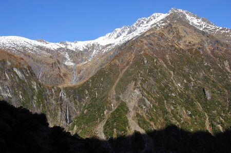 ranges: jagged ranges in  South Westland