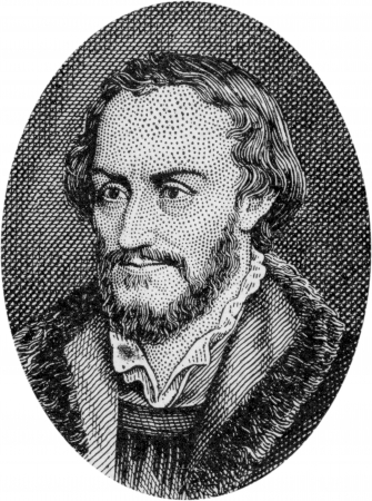 reformation: Engraving of Philip Melanchthon, German Reformer, 1497 - 1560, friend of Luther and leader of the Reformation, by an unknown artist, published in  Daniel and the Revelation  by Uriah Smith, Signs Publishing Company Limited, 1909  Editorial