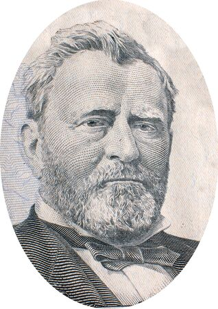 Engraving of Ulysses S  Grant  born Hiram Ulysses Grant, April 27, 1822  July 23, 1885 , the 18th President of the United States  1869-1877  following his dominant role in the second half of the Civil War  Under Grant, the Union Army defeated the Confeder Stock Photo - 17202298