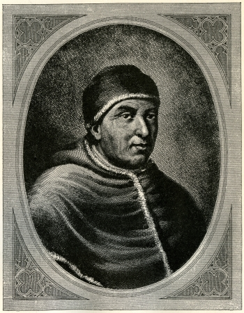 antichrist: Pope Leo X, who reigned at the time of Martin Luther. Illustration from Martin Luther by Gustav Freytag, published by The Open Court Publishing Company, 1897