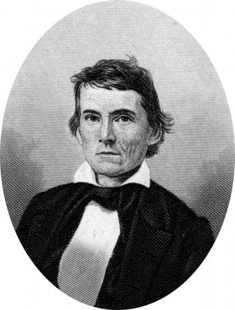 alexander hamilton: Incisione di politico confederato Alexander Hamilton Stephens (11 febbraio 1812 - 4 Marzo 1883), un politico americano della Georgia. E 'stato Vice Presidente degli Stati Confederati d'America durante la guerra civile americana. Ha anche lavorato come un americano