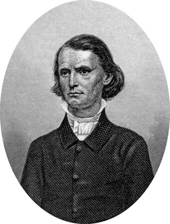 Engraving of Confederate politician Henry Alexander Wise (December 3, 1806 – September 12, 1876), who was a United States Congressman and governor of Virginia, as well as a general in the Confederate States Army during the American Civil War. He served