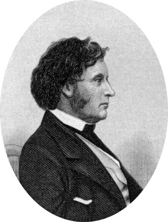 abolitionists: Engraving of Emancipist Charles Sumner, (6th January, 1811 - 11th March, 1874)  was an outspoken advocate of slaves rights. He argued strongly for their complete freedom and rights of citizenship. Sumner also advocated education and prison reform. Origin