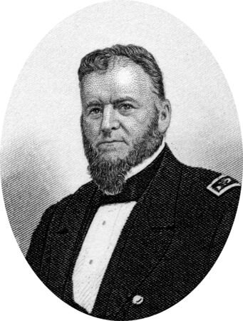 Engraving of Union Navy Rear Admiral Louis Malesherbes Goldsborough (February 18, 1805 – February 20, 1877), a rear admiral in the United States Navy during the Civil War. He held several sea commands during the Civil War, including the North Atlantic B