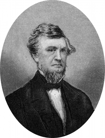 chandler: Engraving of Zachariah Chandler (December 10, 1813 – November 1, 1879), Mayor of Detroit (1851–52), a four-term U.S. Senator from the state of Michigan (1857–75, 1879), and Secretary of the Interior under U.S. President Ulysses S. Grant (1875–77).
