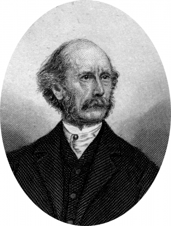 Engraving of Lafayette Sabine Foster (November 22, 1806 – September 19, 1880), a nineteenth-century American politician and lawyer from Connecticut. He served in the United States Senate from 1855 to 1867 and was a judge in the Connecticut Supreme Court Stock Photo - 17393216